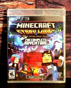 Minecraft Story Mode The Complete Adventure PS3 Sony PlayStation 3 - NEW Sealed