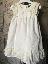 Cynthia Rowley Baby Girl 24 Mo Spring Lace Ruffle Dress Off White
