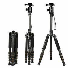 ZOMEI Z669C Carbon Fiber Camera Tripod Monopod Ball Head for Cannon DSLR Camera