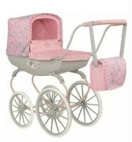 Brand New Kids Girls Baby Annabell Carriage Toy Doll Pram Pink Age 3+ Years