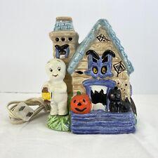 Vtg Harvey Productions Casper the Friendly Ghost Porcelain Haunted House 1987
