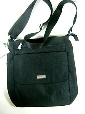 New Baggallini Town Bagg Lightweight Nylon Crossbody Travel Bag Purse Black NWT