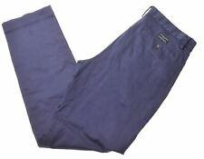 BANANA REPUBLIC Mens Chino Trousers W32 L34 Blue Cotton Emerson GE05