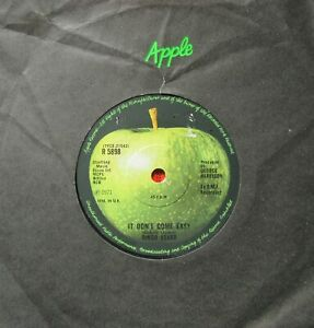 RINGO STARR It Don't Come Easy/Early 1970 Apple R5898 1971