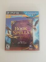 Wonderbook: Book of Spells (Sony PlayStation 3, 2012) Tested
