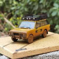 ALMOST REAL 1:43 Land Rover Range Rover 1981 SUMATRA CAMEL TROPHY Dirty Edition