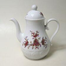 Kaffeekanne Schirnding Rosendekor schöner Zustand ca. 20 x 14 cm