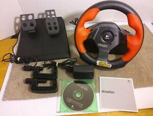 Logitech Wingman Formula Force-Feedback Racing Wheel. Includes Software Open Box