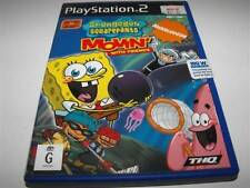 Spongebob Squarepants Movin with Friends PS2 PAL Preloved *No Manual* *Eyetoy*