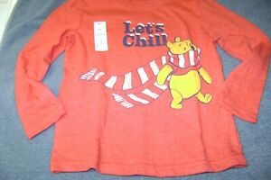 WINNIE THE POOH  LONG SLEEVE SHIRT  BY DISNEY  BOY OR GIRL  SIZE 4T NEW  $14