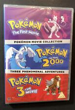 Pokemon Triple Movie Collection Movies 1-3 DVD Region 2
