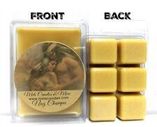 NAG CHAMPA 3.2oz Pack of Soy Wax Tarts (6 Cubes Per Pack) Scent Brick wax Melts