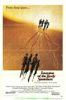 INVASION OF THE BODY SNATCHERS MOVIE POSTER 27x41 Advance Style LEONARD NIMOY