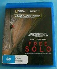FREE SOLO BLU-RAY (Climbing) OSCAR Winner Best Documentary Australian
