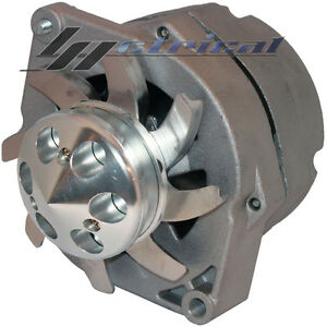 NEW ALTERNATOR HIGH OUTPUT FOR CHEVY OLDS GM BBC SBC HOTROD THREE 3 WIRE 160 Amp