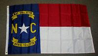 3X5 NORTH CAROLINA STATE FLAG NC FLAGS NEW USA US F256