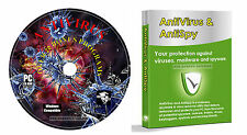 Anti-Virus Anti-Spyware Trojan Removal Software + Data Recovery, PC CD Rom