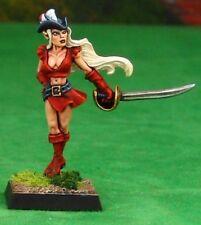 Lauren Elf Pirate Reaper Miniatures Dark Heaven Legends RPG Fighter Melee Sword