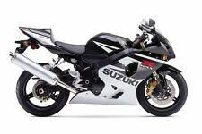 SUZUKI TOUCH UP PAINT KIT GSXR600K5 BLACK AND SILVER