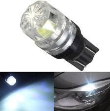 2pcs T10 12V W5W 194 168 LED COB Car Interior White Side Lamp Wedge Light Bulb