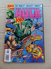 Incredible Hulk 455 . Vs X-Men . Marvel 1997 . VF