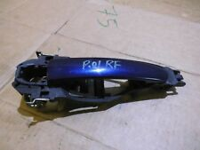 VW PASSAT B5 FRONT RIGHT DOOR HANDLE IN BLUE DRIVER SIDE OSF 3B0837886 2001 >