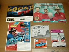 Lee Richard Petty 1967 Plymouth 1972 Dodge Charger Wing Superbird handout lot