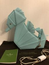 Kate Spade Origami SEAHORSE Purse Bag Breath of Fresh Air, Rare