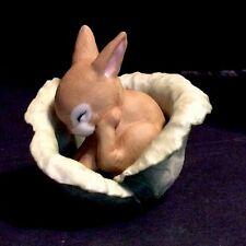 Franklin Mint Woodland Surprises Rabbit 1983 Jacqueline B. Smith Figure