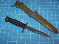 MILPAR Bayonet Knife & M8A1 Scabbard Military USMC