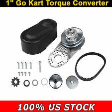"Hot Go Kart Torque Converter Set Kit Cvt Clutch 1"" Comet Tav20 30 #420 Us Ship"