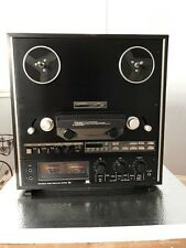 """TEAC X-1000R ( 7"""" & 10.5"""") REEL TO REEL TAPE DECK RECORDER SERVICED"""