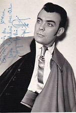 JEAN PIERRE LAFFAGE opera baritone signed photo as Escamillo in Carmen