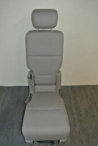 Honda Odyssey Seat 2nd Jump Middle Grey Fabric 2011 2012 2013 2014 2015 2016