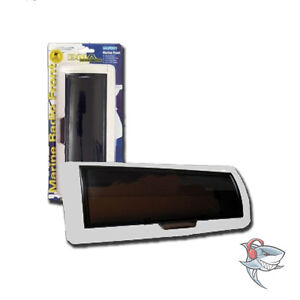 NEW MARINE HEAD UNIT FRONT COVER  WHITE RADIO COVER WATER RESISTANT PROTECTIVE