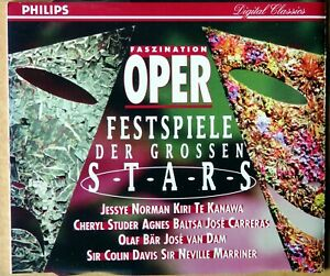 Faszination Oper - Festspiele der grossen Stars - CD