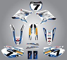 Full  Custom Graphic  Kit - STORM - Honda CRF 450 - 2005 - 2008