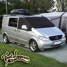 Deluxe Mercedes Benz Vito 639 Front Window Screen Cover Black Out Blind Frost