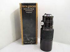 Soligor 400mm Golden Series Telephoto Camera Lens F/5.6 for Pentax-K