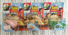 Thinkway Disney Toy Story Woody Rex & Hamm Auction Figures New NIB