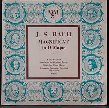 """MMS 31 BACH - MAGNIFICAT REINHART WINTERTHUR SYMPHONY ORCH ORIG 10"""" LP USA"""