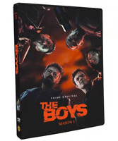 """THE BOYS: SEASON 1 The Complete Season -- """"NEVER MEET YOUR HEROES"""" DVD BRAND NEW"""