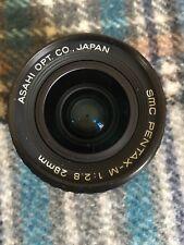 PENTAX Pentax SMC 28mm F/2.8 Lens For Pentax