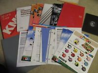 Bicycle bike dealer catalogs brochure shimano sram kmc