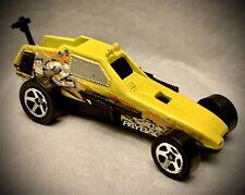 Vintage 1982 Hot Wheels - Yellow Nitro Payback #12 DUNE BUGGY - Guns 1:64 Scale
