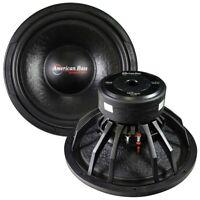 """NEW TNT1544 American Bass 15"""" Woofer (TNT15) 1600 watts max 4 Ohm DVC"""