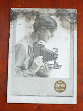 Kodak Premo Catalog 1917, 48 Pages, Cover Is Badly Stained/cks/198251