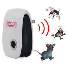 Pest Reject Repeller Ultrasonic Mouse Electronic Mosquito Killer Home Bug Pro
