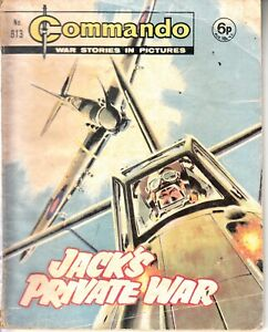 COMMANDO COMIC - No 813   JACKS PRIVATE WAR