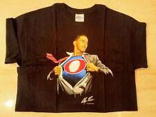 BARACK OBAMA SUPERMAN SHIRT TIME FOR A CHANGE 2008 ALEX ROSS NEW LARGE